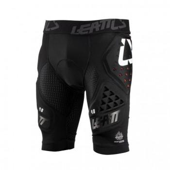 Leatt Impact shorts 3DF 4.0 - black - krótkie spodenki z ochraniaczami
