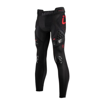 Leatt Impact Pants 3DF 6.0 - black - długie spodnie z ochraniaczami