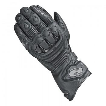 Bezpieczne, skórzane rękawice motocyklowe
