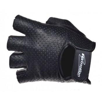 Inmotion Short - czarne - krótkie rękawice motocyklowe bez palców