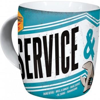 """Kubek """"service and repair"""""""