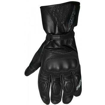 Sportowo-turystyczne skórzane rękawice motocyklowe RST GT