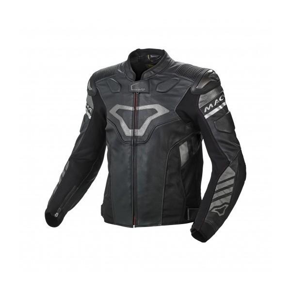 Macna Tracktix bezpieczna kurtka skórzana i tekstylna slidery protektory ocieplenie