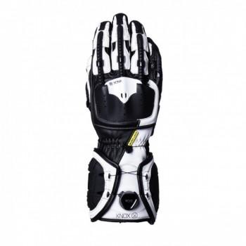 Knox Handroid MK IV rękawice sportowe długie bezpieczne zapięcie BOA skóra kangurza egzoszkielet