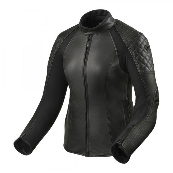Damska kurtka skórzana wygodna bezpieczna idealna na chłodniejsze dni
