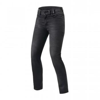 Spodnie jeansowe motocyklowe bezpieczne cordura denim protektory kolana biodra seesmart