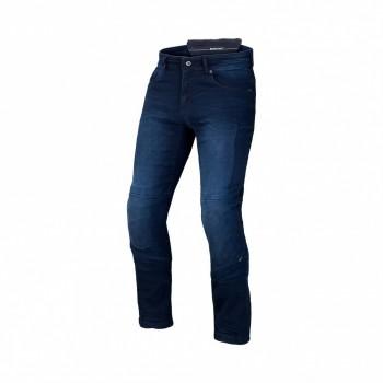 Wygodne jeansy motocyklowe Macna Stone bezpieczne włókno aramidowe protektory