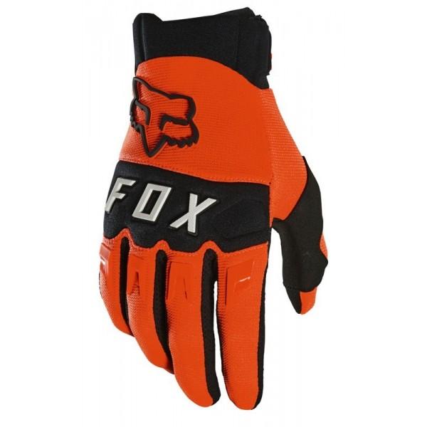 Rękawice Fox Dirtpaw krótkie wygodne tekstylne rękawice crossowe