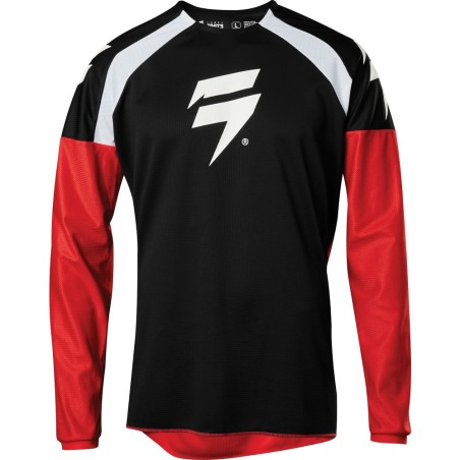 Shift Whit3 Label Race - black/red - bluza crossowa