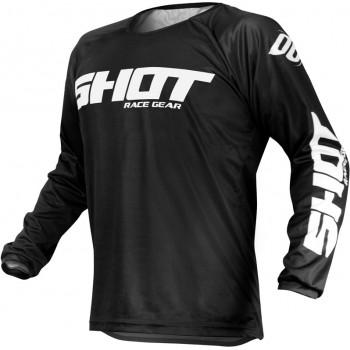 Shot Devo Raw - black/white - bluza crossowa