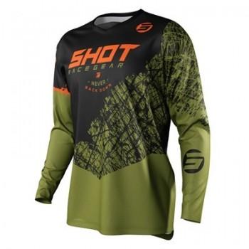 Shot Devo Storm - khaki - bluza crossowa