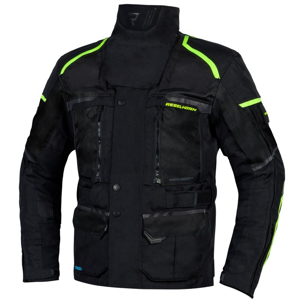 Długa kurtka tekstylna Rebelhorn Cubby z wypinaną membraną oraz ociepleniem