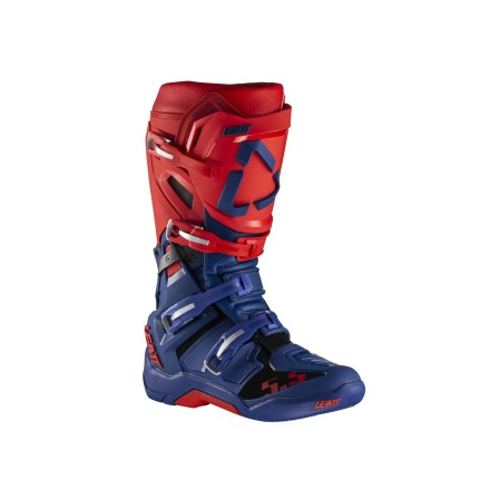 Leatt Moto 5.5 FlexLock - Red/blue - Buty cross