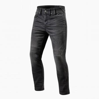 Wygodne, wzmacniane spodnie jeansowe, z wysokim poziomem bezpieczeństwa z komfortowymi protektorami